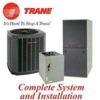 Trane 14 SEER Gas System