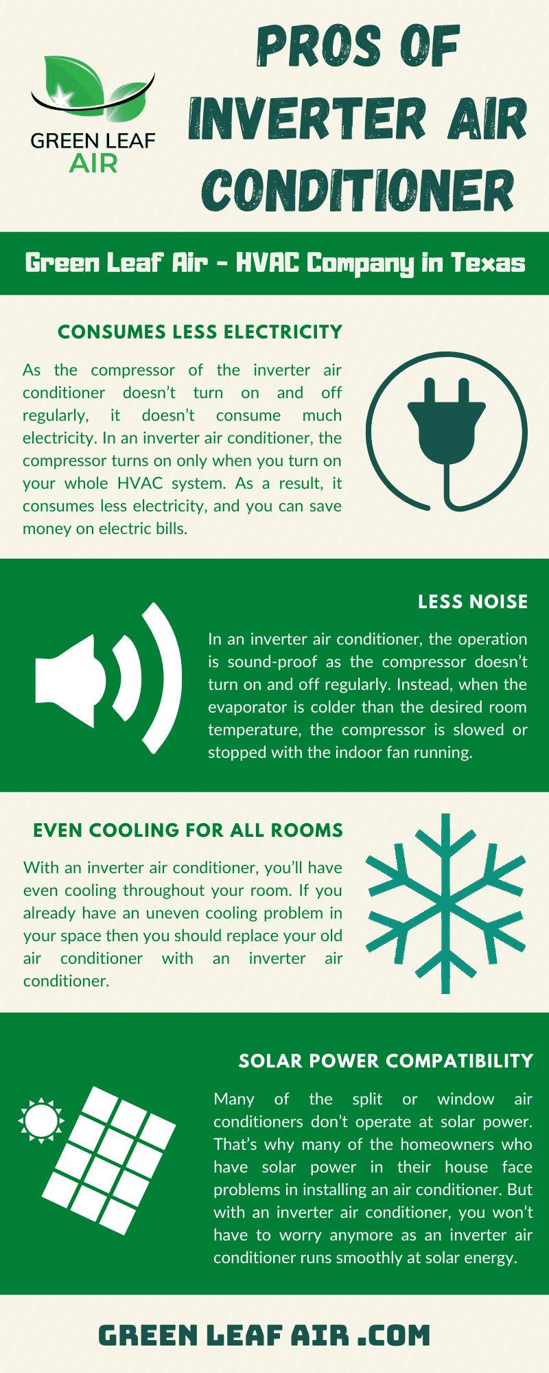 Pros of Inverter Air Conditioner
