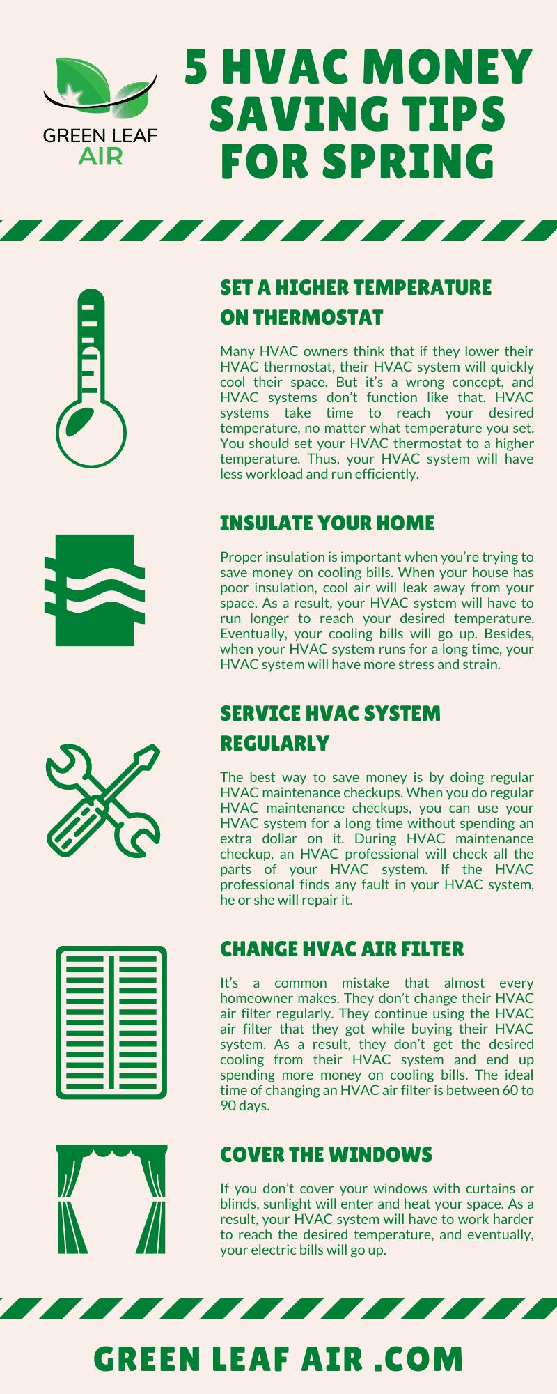 5 HVAC Money Saving Tips for Spring