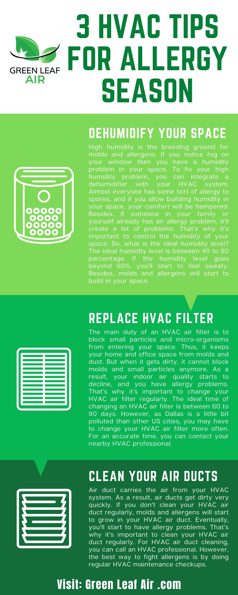 3 HVAC Tips for Allergy Season