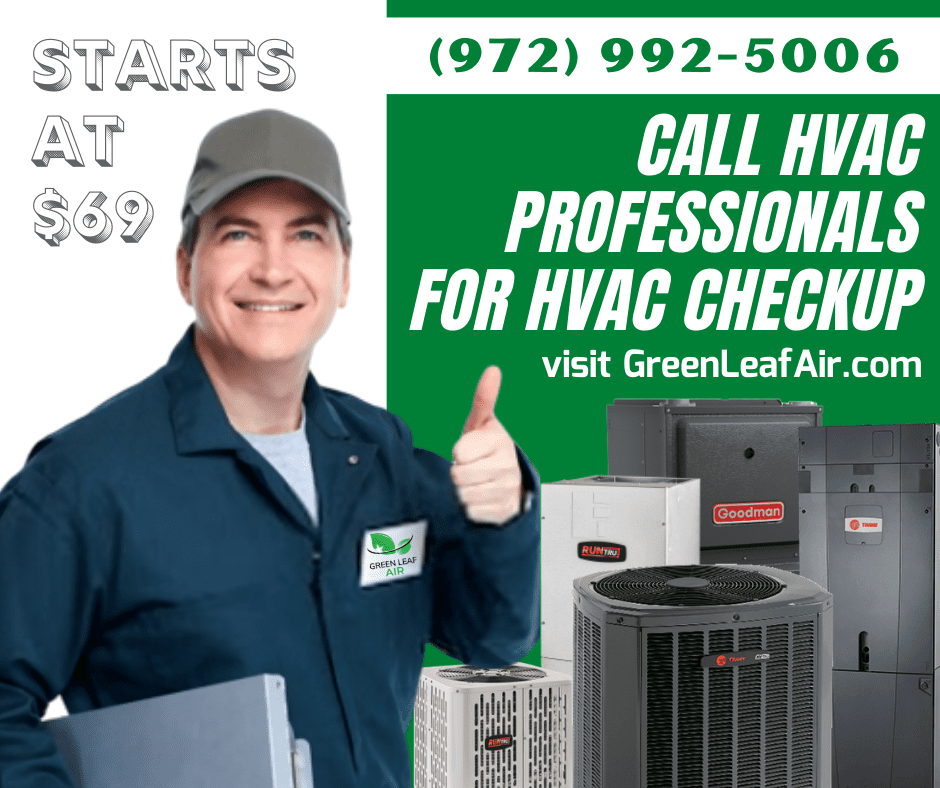 HVAC Checkup starts at $69