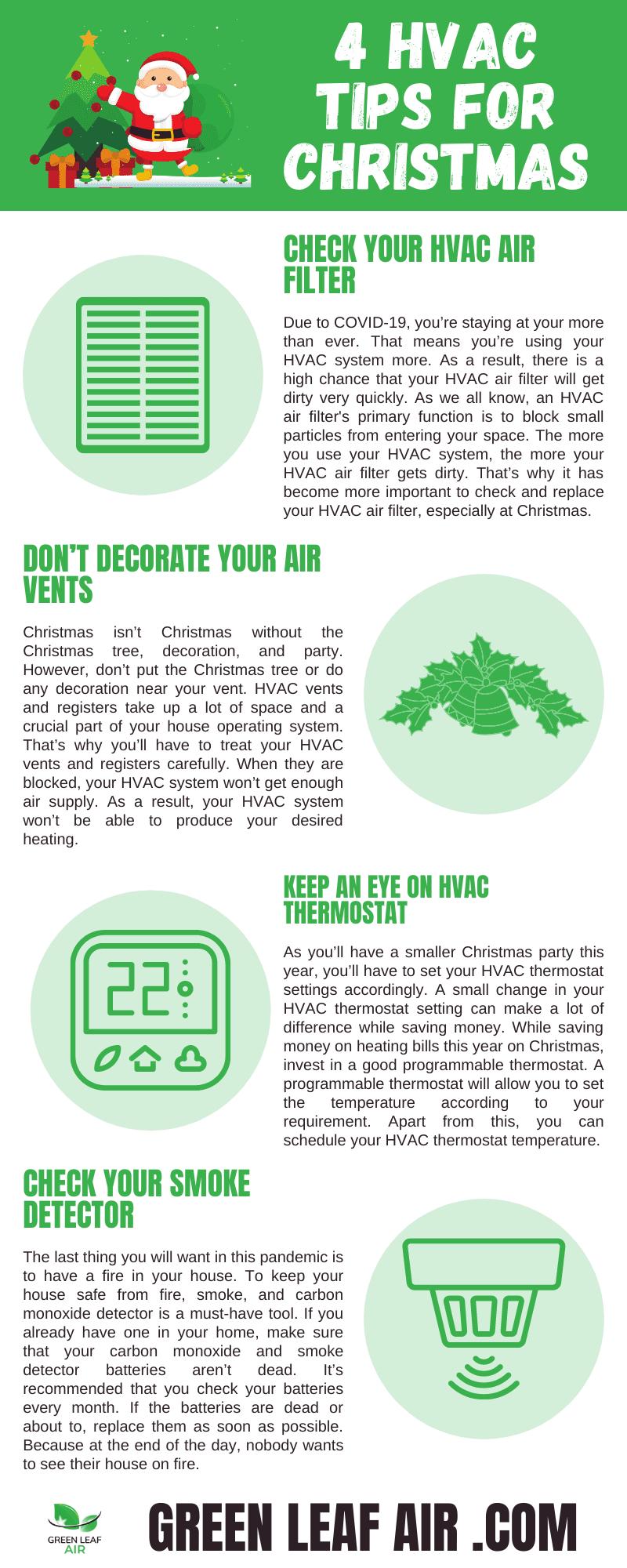 4 HVAC Tips for Christmas