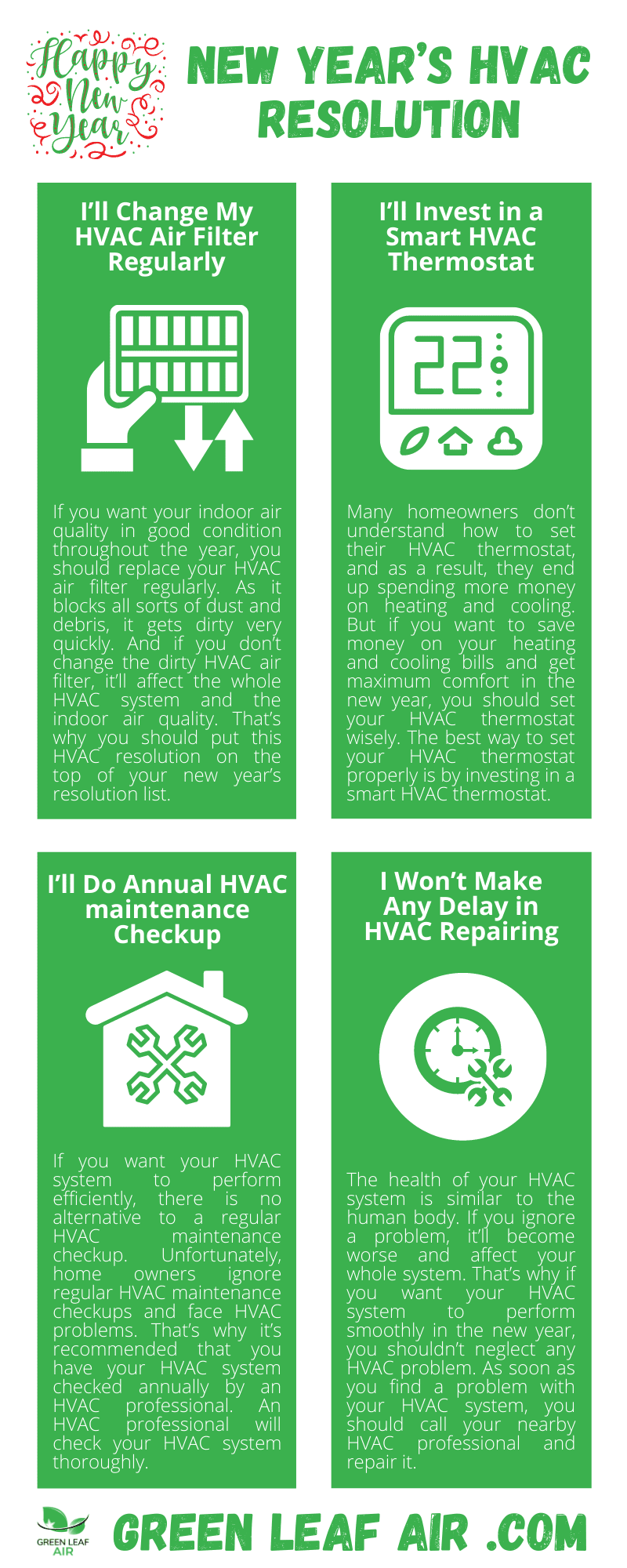New Year's HVAC Resolution